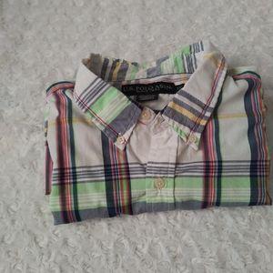 US Polo Assn button down short sleve mens shirt